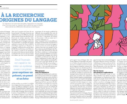 À la recherche des origines du langage