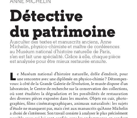 Anne Michelin: Détective du patrimoine